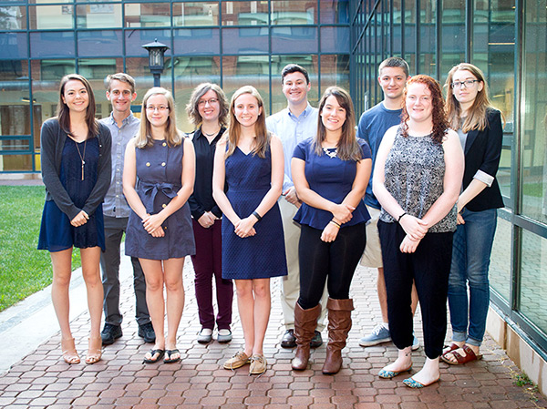 10 students named as 2016 Chancellor's Scholarship recipients
