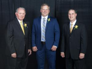 Alumni Association honors three for distinguished careers or service