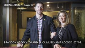 Alumni Awards 2013: Brandon '06 and Erica Adcock '07 '08
