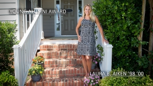Young Alumna Award 2015: Laura Aiken '98 '00
