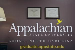 Masters' Matter — Appalachian State University Grad School ad 2015