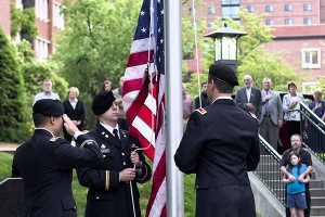 Memorial Day 2015: Remarks by Lt. Col. David Cox '90