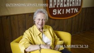 Outstanding Service Award 2015: Reba Moretz '52 '53