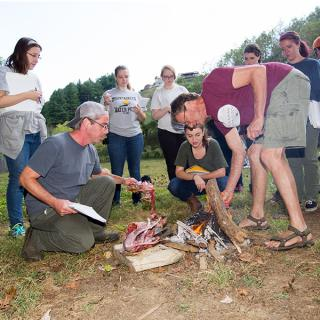 Photos from Experimental Archaeology course taught by Dr. Tom Whyte