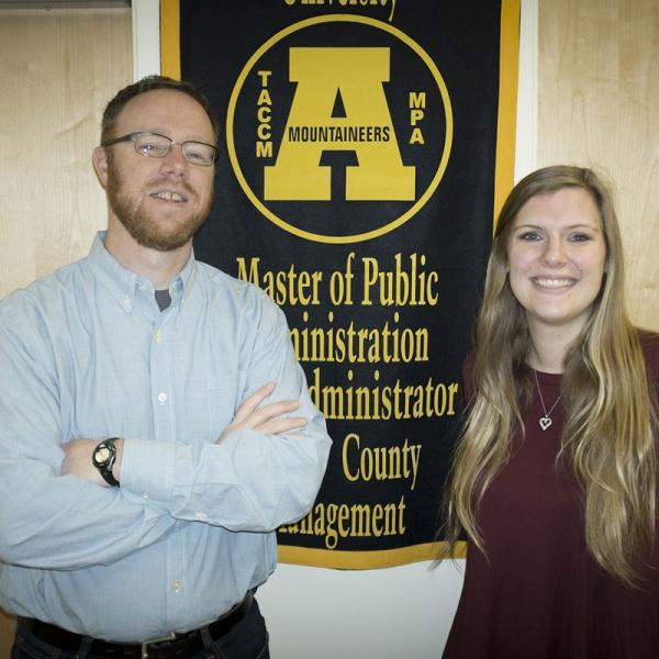 Masters Matter: Dr. Mark Bradbury and Gretchen Vetter, Public Administration