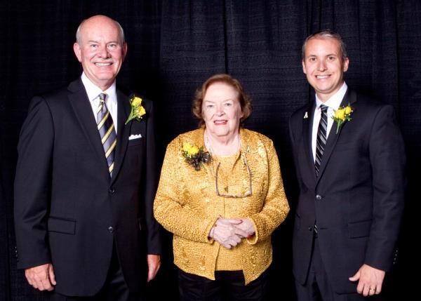 Three honored at Alumni Awards Gala