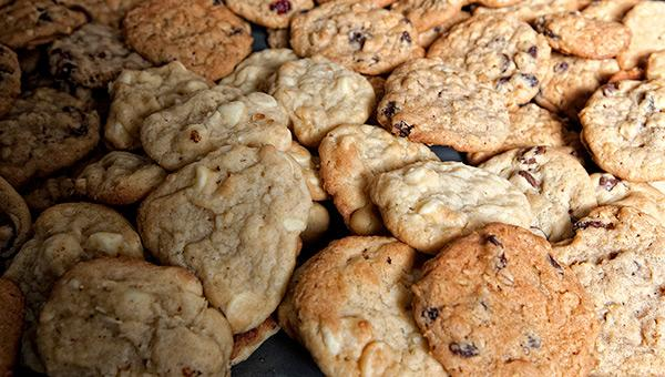 Young entrepreneur finds success in gourmet cookies