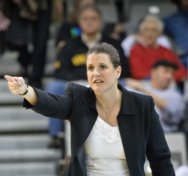 Women's Basketball Coach Darcie Vincent