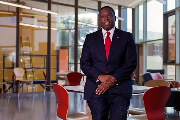 Alumnus Kemal Atkins' family put education first, now higher education is his top priority