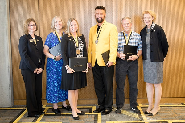 2017 Staff Excellence Award winners