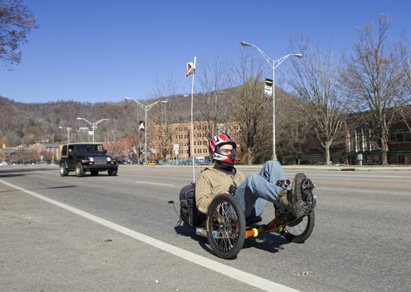 Appalachian student builds and sells electric tricycles