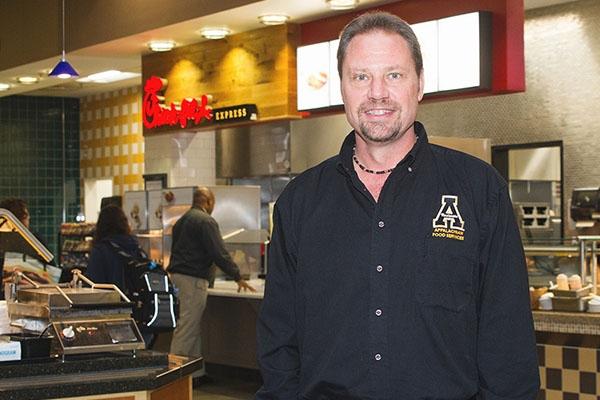 John C. Welborn – Appalachian's Food Services Supervisor
